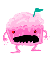 CUPCAKE MONSTER!!!! by IAMProductions