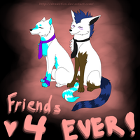 ''Friends 4EVER!'' by Drawotion
