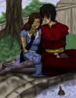 Zutara Week - Pain by happyzuko