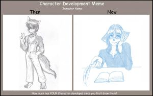 Character Development Meme by Nukude