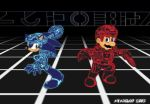 Mario And Sonic Playing TRON. by Atariboy2600