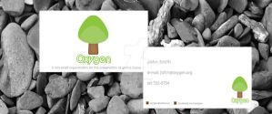 Oxygen Business Card by Sith4Brains