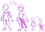 Melody Outfit Concepts by Mistresa