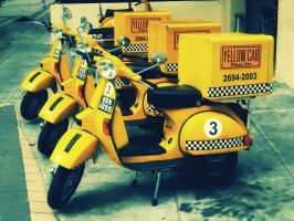 Yellow Cab 2 by sp3ctrm5tr