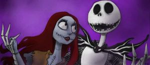 Jack X Sally icon by twisted-wind