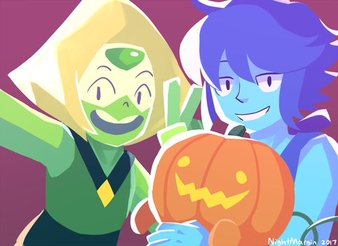 Pumpkin selfie! by NightMargin