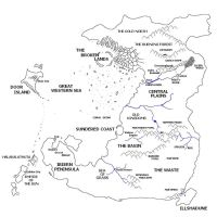The Known Lands by ajaxtorbin