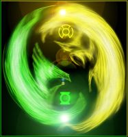 Green Lantern Taijitu by What-the-Gaff