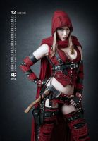 Red hood bounty hunter Diciembre by lasupercharger
