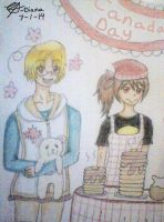 Hetalia: Canada Day by DaisyLovin