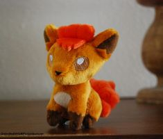 Takara tomy Vulpix by Greenfox8892