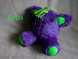PUNKitty Orio plush by IskaDesign