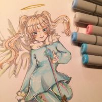 Copic test //// by Akuyi