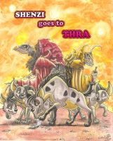 Shenzi goes to Thra COVER by smeagolisme