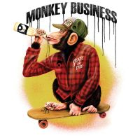MONKEY BUSINESS by IdemLaFel