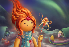 Flame princess by goodsirxv