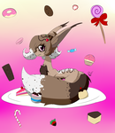 Gift: Something Sweet For You by DazzleFox