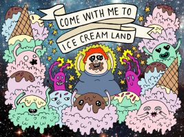 ice cream land by b0dys0ng