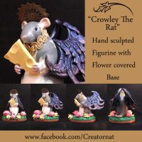 Crowley The Ratty Angel (In Detail with Base) by natamon
