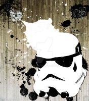Stormtrooper Graffiti by DanC94