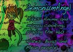 DemoniumAngel ID 2 by DemoniumAngel