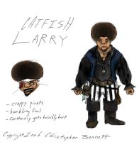 TGMPA: Catfish Larry by BunnyBennett