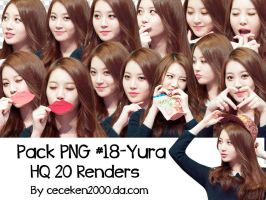 Pack PNG #18: Yura Girl's Day by CeCeKen2000