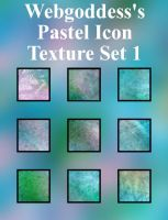 Icon Pastel Texture Set 1 by webgoddess