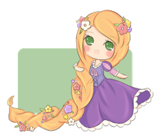 tinies : rapunzel by stephie-boo