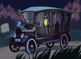 Hearse by dodgyrommer