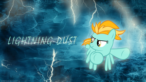 Lightning Dust wallpaper by AzizTheWazon