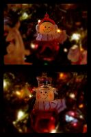 Red Christmas Ornaments by Tickle-Your-Fancy