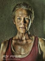 The Walking Dead: Carol: Oil Paint Re-Edit by nerdboy69