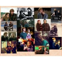 Ron and hermione college by live4dancingg