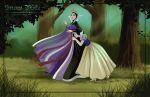 Friendly Villains #2 - Snow White by Precia-T