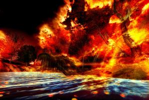 Forest Inferno by ToysoldierThor