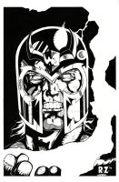 Magneto- jim lee style by ZUCCO-ART
