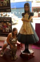Me with alice and cheshire cat by Colorful-Kaiya