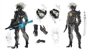 Raiden Concept Art - Metal Gear Rising Revengeance by Serenity-Discord