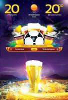 Europa Football Flyer Template by sluapdesign