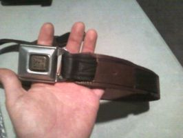 Owen Dral leather Jedi Belt 2 by theclothmaster87
