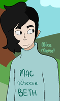 Nerd actually goes outside by Mellolicious-Kris