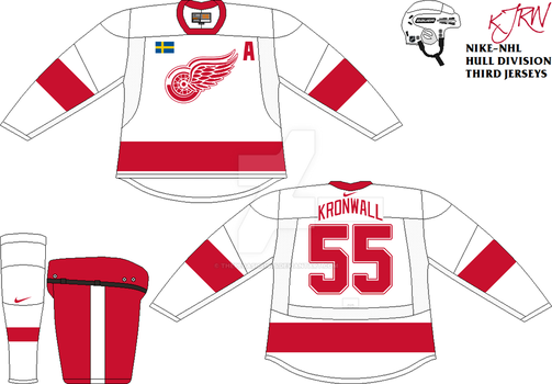 Detroit Red Wings Third V1 by thepegasus1935