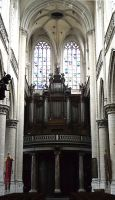 Main entrance Church and organ by CaryAndFrankArts