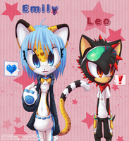 .Emily and Leo. by DigiKat04