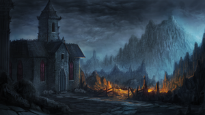Diablo Inspired Church Speedpaint by AtTheSpeedOfFetus