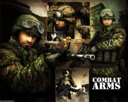 Combat Arms Collage by Sam-Chavles