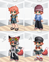 my Gaia Clothes by Ca14