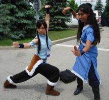 AN2012 Korra / Katara cosplay by Lizeth