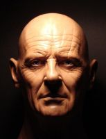 Anthony Hopkins head sculpt by MR-BARLOW